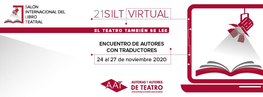 Javier del Barrio en el Encuentro de Autores y Traductores Virtual.