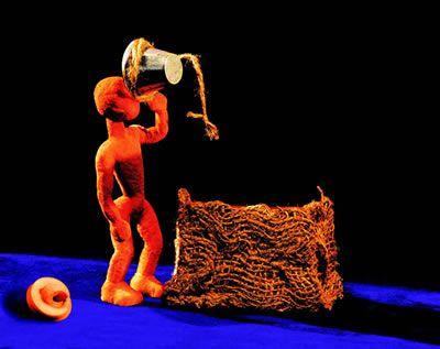 La Mar de Marionetas de Gira con su Niño que Soñaba, por Brasil
