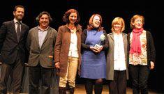 Entrega del Premio Nacional ASSITEJ-España 2013 a la Biblioteca Municipal Torrente Ballester de Salamanca