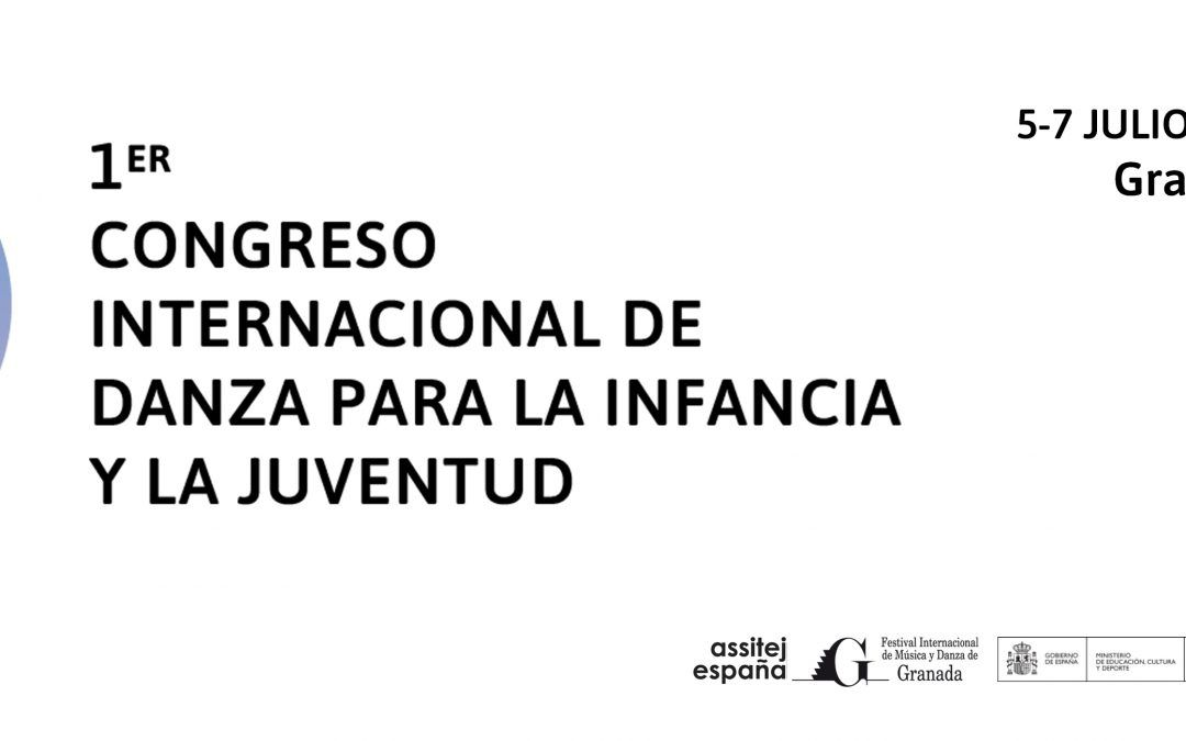 ASSITEJ Spain celebrates the 1st International Dance Congress for Children and Youth