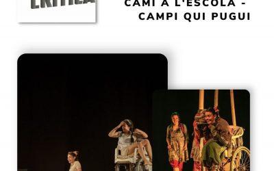 """Campi Qui Pugui recibe el Premio de la crítica de Cataluña por su """"Camino a la escuela"""" ¡¡Muchas felicidades!!"""
