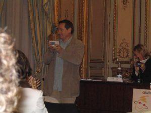 Julio Michel recoge el Premio Nacional ASSITEJ España 2004