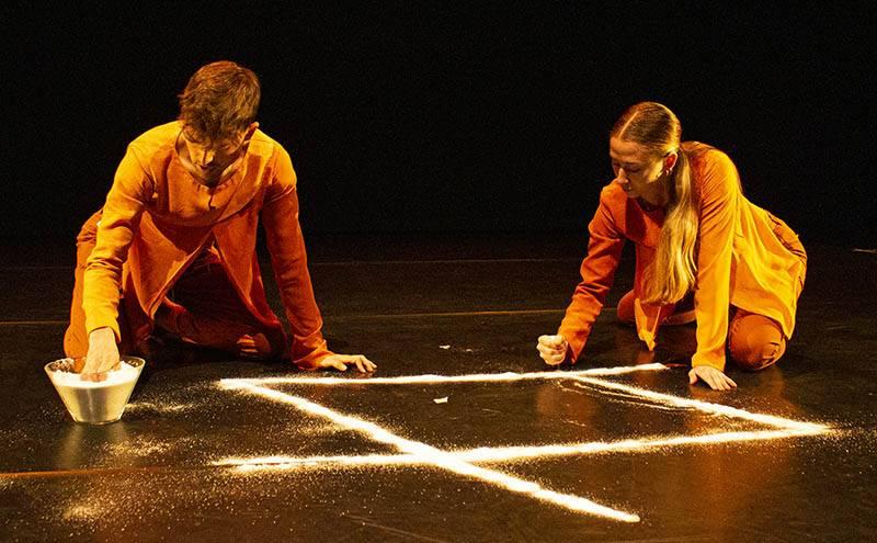 """La companyia DA.TE Dansa pre-estrena """"Natanam""""; un nou espectacle de dansa contemporània per primera infància i famílies."""