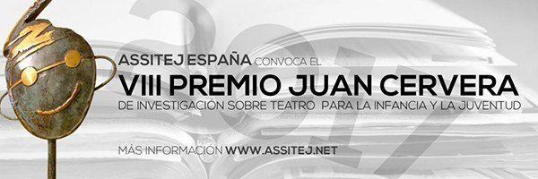 VIII Premio Juan Cervera de Investigación sobre Teatro para la Infancia y la Juventud